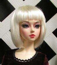 Doll Wig, Ava, Sz 6/7 White Blonde (Modeled in another size)