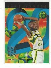 1995-96 HOOPS BASKETBALL NUMBER CRUNCHERS GARY PAYTON #13 OF 25 - SUPERSONICS