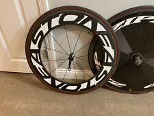 Zipp 808 and Easton EC90 Wheelset 808 Carbon Tubular Triathlon/TT