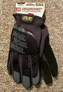 Mechanix Wear, Fast Fit Black Work Gloves, Size Large (Brand New with Tags)