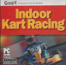 INDOOR KART RACING Go Cart Rotax PC Game NEW VISTA OK! - E for Everyone