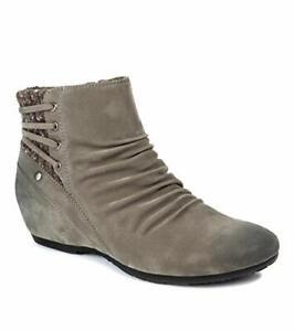 BareTraps Women's Peanut Ankle Boot, Medium Grey, Size 10.0 ZvgJ