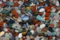 1LB SMALL Natural  Mix Tumbled Gemstones Wholesale Bulk A88/7N15