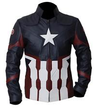 Para Hombres Top Celebridad Capitán América Guerra Civil Diseñador Chaqueta 2016