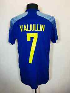 KAZAKHSTAN 2020/2021 HOME FOOTBALL SHIRT SOCCER JERSEY #7 VALIULLIN MATCH WORN