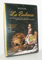 LA BOHEME (Bohème) PUCCINI FRANCO ZEFFIRELLI THE METROPOLITAN OPERA DVD NUOVO