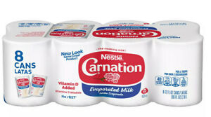 Carnation Evaporated Milk (12 oz. cans, 8 pk.) Free Shipping
