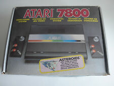 Atari 7800 Console Boxed Complete - PAL UK - AMAZING CONDITION!