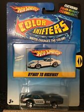 Hot Wheels 1981 Corvette STINGRAY COLOR SHIFTERS POLICE #68 BYWAY TO HIGHWAY NEW