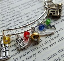Harry Potter Inspired Charm Bracelet - 11 Charms Included. USA
