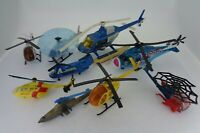 Diecast toy lot Helicopter collection include Vintage Corgi toys - Set of 9