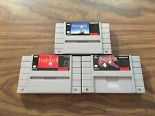 Final Fantasy II + III, 2+3 + Mystic Quest (Super Nintendo, SNES LOT) Authentic