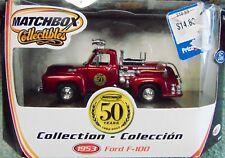 Matchbox 1953 Ford F-100 FireTruck - 50th 1:43 - New
