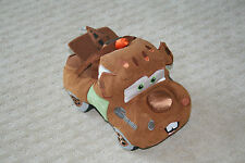 "Disney Store MC Mater Spy Cars Stuffed Plush 13"" long Cars & Cars 2"