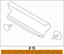 FORD OEM Radiator Core Support-Lower Splash Shield Deflector BC3Z8327B
