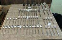 62 pc's Community Silverplate South Seas flatware set
