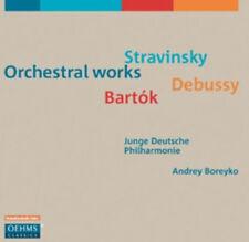 Igor Stravinsky : Stravinsky/Debussy/Bartok: Orchestral Works CD (2011)
