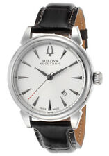 NEW Bulova Accutron Gemini 63B148 Swiss Made Men's 26-Jewel Automatic Watch $950