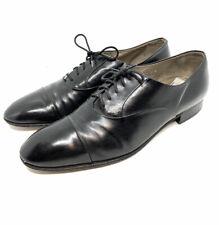 Vintage Christian Dior Mens Cap Toe Shoes Oxford Italy Sz 9