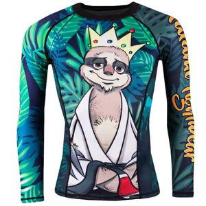 Tatami Fightwear King Sloth Long Sleeve BJJ Rashguard