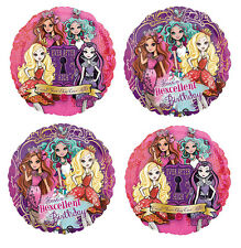Ever After High Birthday Mylar Balloons - 4 Balloon Bouquet