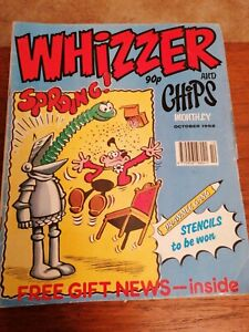 The Best Of Whizzer And Chips Monthly October 1992 Joker Fuss Pot Odd Ball