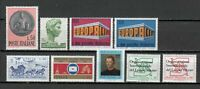 Italy MNH 1969 Complete Year Set 9v Year Complete s21510
