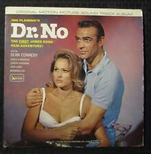 1963 DR. NO Original Movie Sound Track LP VG/GD+ Mono UAL 4108