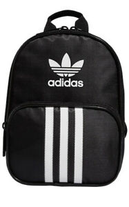 Women Adidas Originals Santiago Mini Backpack Black/White