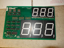 BELLY BOMBER NAMCO SCORE DISPLAY  ARCADE GAME PCB BOARD   WF59