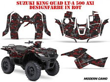 AMR RACING DEKOR KIT ATV SUZUKI KING QUAD LTA 450/500/700/750 MODERN CAMO B