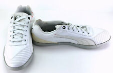 Puma Shoes 1198 Ducati St White Leather Trainer Sneakers Size 9