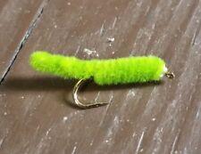 One Dozen (12) Green Weenie size 16 fishing flies