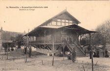 MARSEILLE expo coloniale 1906 14 pavillon du congo