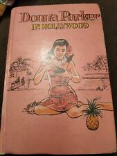 Donna Parker in Hollywood by Marcia Martin 1971 hardback