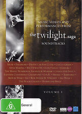 TWILIGHT SAGA SOUNDTRACKS Music Videos & Performances DVD R4 - PAL