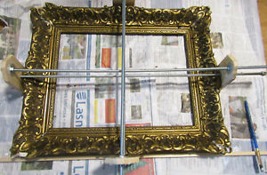Restoration and creation of custom-made baroque frames for paintings