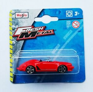 Maisto 1/64 3 inches Porsche 911 Speedster