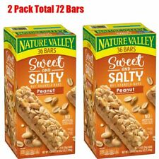 Nature Valley Sweet & Salty Nut Peanut Granola Bars (36 ct.) Pack of 2