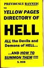 THE YELLOW PAGES OF HELL book by S. Rob satanism demonology occult devil worship