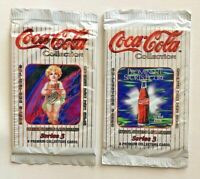 Vintage Sealed 1994 Coca Cola Series 3 Premium Collectors Card Lot of 2 Packages