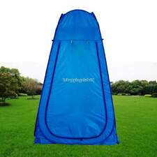 Portable Outdoor Pop Up Tent Camping Shower Privacy Toilet Changing Room Blue