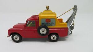 Vintage Corgi 477 Land Rover Breakdown Truck In Its Original Box