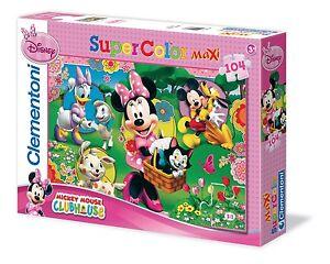 Kinderpuzzle 104 Teile Maxi Disney: Minnie Mouse 23636