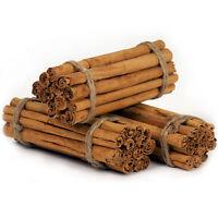 "Ceylon's Finest True Alba Cinnamon | 5"" Long Sticks | 2019 Fresh Harvest"