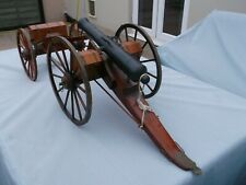 More details for huge antique 6 foot napoleonic field canon cannon scratch built model stunning