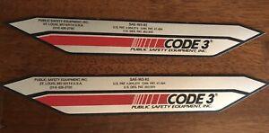 Code 3 XL 5000 Logo Set