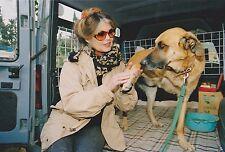 Brigitte BARDOT ANIMAUX Photo Presse Originale LA LONDE 1994