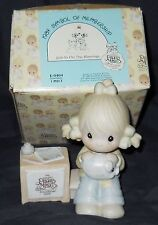 PRECIOUS MOMENTS JOIN IN ON THE BLESSINGS FIGURINE BY ENESCO 1984 # E-0404