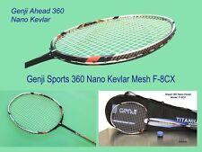 Genji Ahead 360 Nano Kevlar F-8CX + Genji Ti-3500 + Overgrips + Bag